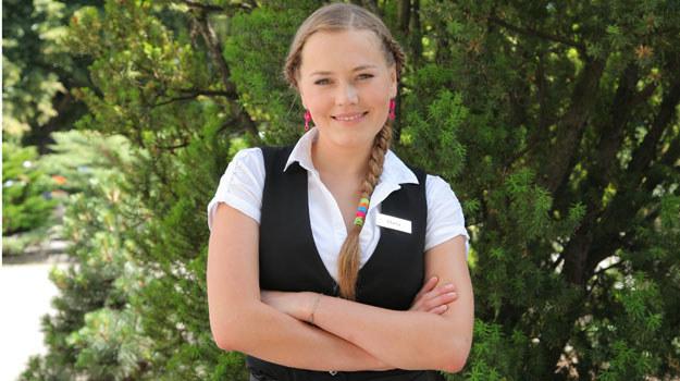 - Pracuję intensywnie nad pracą magisterską i mam nadzieję, że wkrótce zostanę magistrem sztuki!- mówi aktorka /Agencja W. Impact