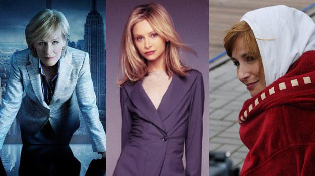 Prawniczki z charakterem: Patty Hewes (Glenn Close), Ally McBeal (Calista Flockhart) i Magda Miłowicz (Joanna Brodzik) /Agencja W. Impact /materiały prasowe