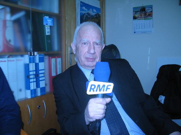 Prof. Andrzej Dziech /Grzegorz Jasiński /RMF FM