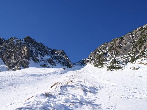 Raki i czekan są bardzo ważnym wyposażeniem w zimowych warunkach, szczególnie gdy pokonujemy bardzo strome stoki /Bartosz Styrna /RMF FM