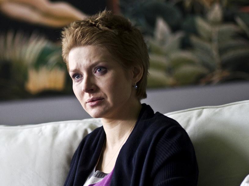 Renata ( Urszula Grabowska ) przez lata musiała ukrywać swoją tajemnic /materiały prasowe