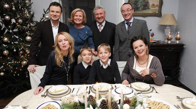 """Rodzinne święta w """"Klanie"""" /Agencja W. Impact"""