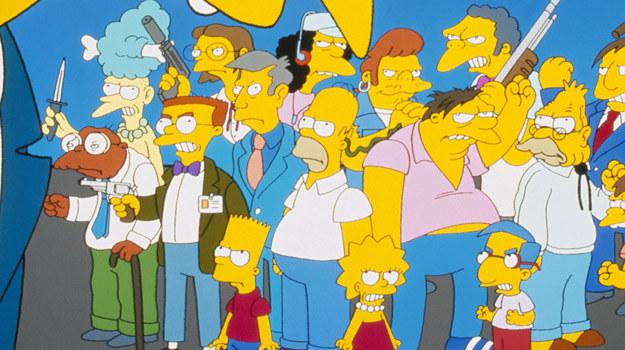 """Simpsonowie"" /FOX"