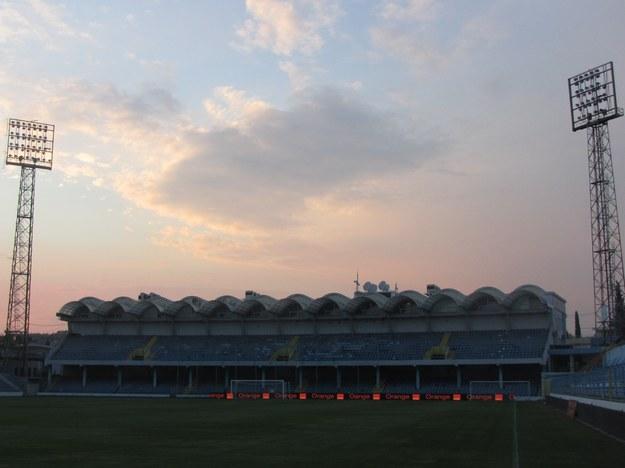 Stadion w Podgoricy /Maciej Jermakow /RMF FM