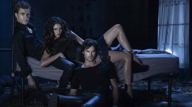 Stefan, Elena oraz Damon - nowy typ bohaterów współczesnej telewizji. /materiały prasowe
