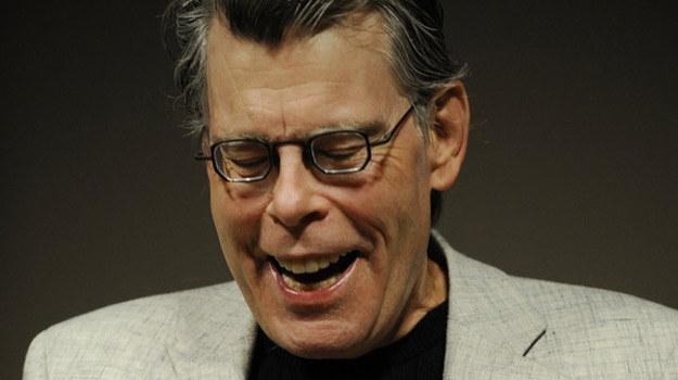 Stephen King w czasie konferencji prasowej /AFP