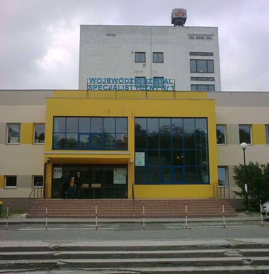 Szpital wojewódzki w Tychach /Józef Polewka /RMF FM