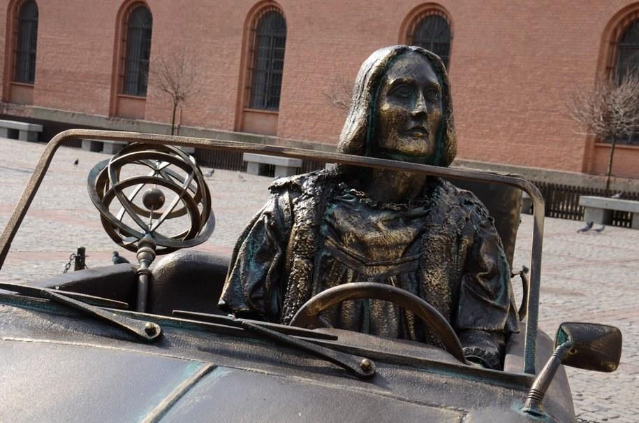 Tak wygląda pomnik wybitnego astronoma /Tomasz Fenske /RMF FM