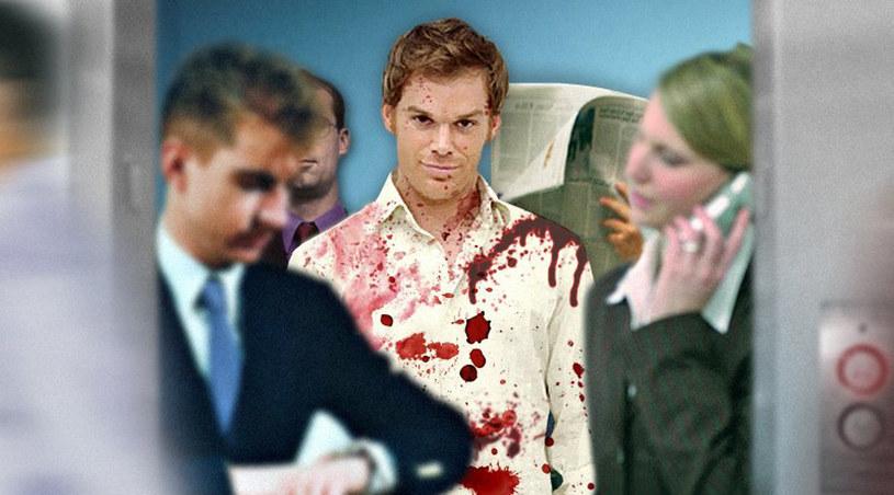 """""""To nie Dexter ma problem ze słabością do zła. To jego widzowie mają ten problem"""" /Showtime /materiały prasowe"""