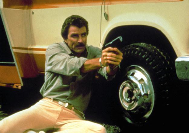 Tom Selleck jako Thomas Magnum /AKPA