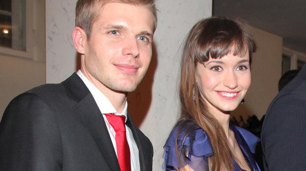 Tomasz Ciachorowski oraz Joanna Osyda podczas  gali Telekamer TeleTygodnia 2011 /Agencja W. Impact