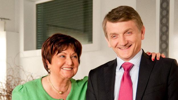 Tracz (Dariusz Kowalski) i mama Tracz (Krystyna Tkacz) /Agencja W. Impact