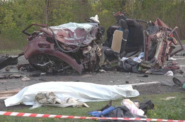 Tragiczny wypadek w Ociążu /PAP