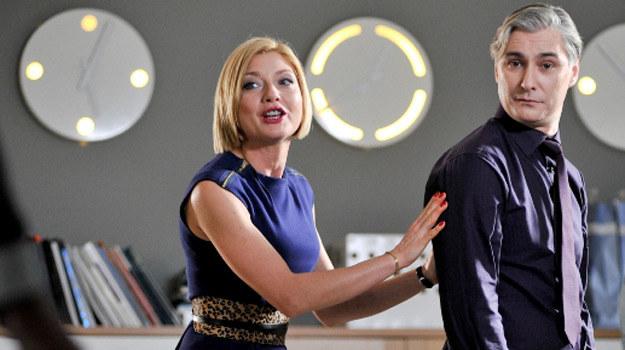 W firmie, gdzie pracują Pola i Jeremiasz zabraknie miejsca dla Anki - głównej bohaterki serialu /materiały prasowe