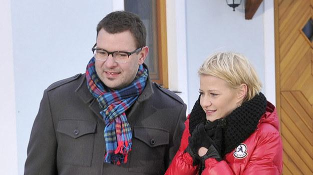 W głównych rolach zobaczymy Małgorzatę Kożuchowską i Tomasza Karolaka /AKPA