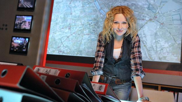 """W """"Instynkcie"""" Marieta Żukowska wciela się w postać podkomisarz Aleksandry Lewickiej /Agencja W. Impact"""