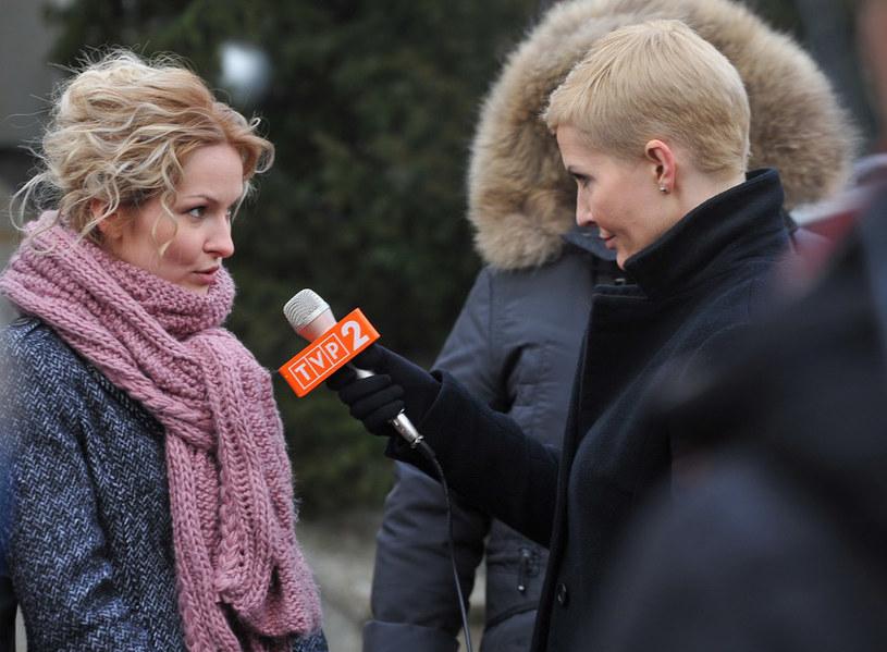 """W """"Instynkcie"""" zobaczymy także Marietę Żukowską (po lewej), a także gościnnie znaną dziennikarkę Joannę Racewicz, która zagra samą siebie /Agencja W. Impact"""