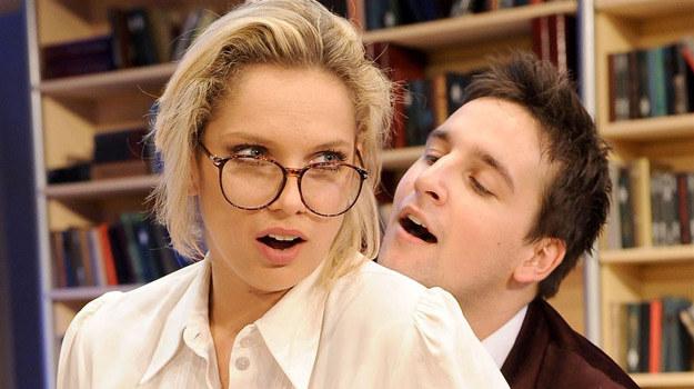 """W komedii """"Fredro dla dorosłych mężów i żon"""" zobaczymy Joannę Liszowską /Agencja W. Impact"""
