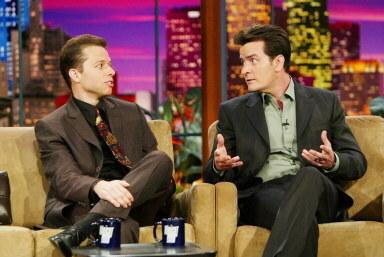 """W programie """"The Tonight Show with Jay Leno"""" w 2004 roku /AFP"""