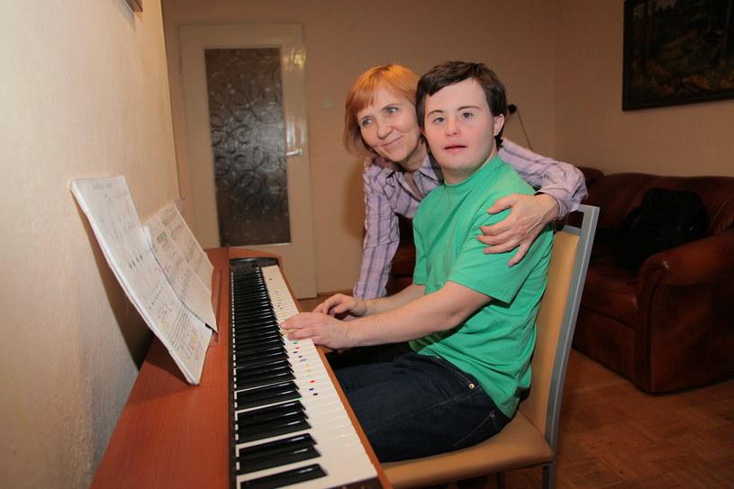 W przyszłości chciałbym być superpianistą - przyznaje Piotr /Agencja W. Impact