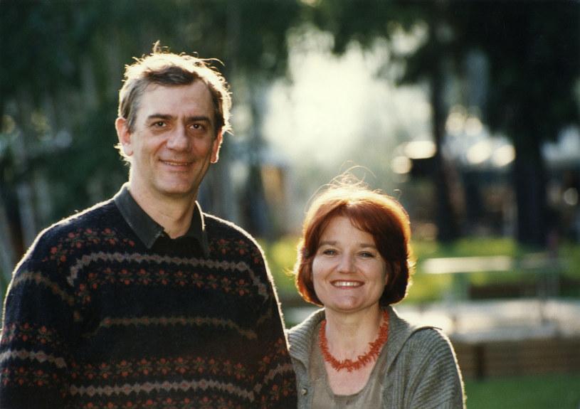 Z mężem, Wiktorem Zborowskim /AKPA