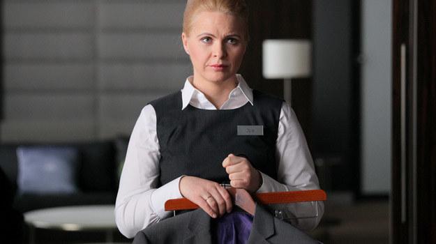 Zarówno aktorka (Magdalena Stużyńska-Brauer)) jak i jej postać będa w ciązy /Agencja W. Impact