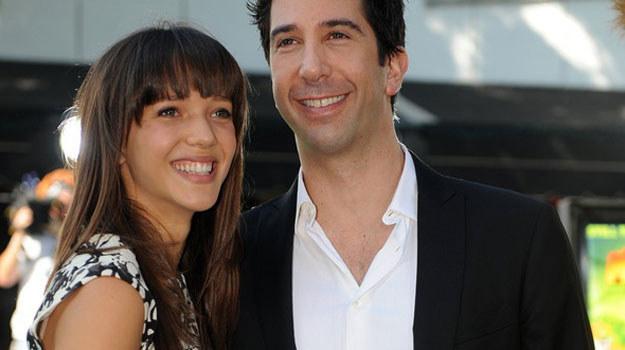 Zoe Buckman i David Schwimmer /AFP