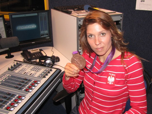 Zofia Noceti-Klepacka w warszawskim studiu RMF FM /Maciej Jermakow /RMF FM