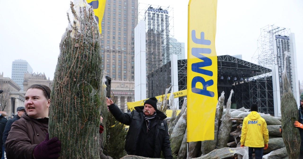 """""""Choinki pod choinkę"""" od RMF FM. Byliśmy w Warszawie!"""