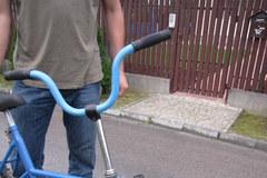 """Dziwny"" rower Tomasza Hajduka"