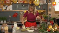 """""""Ewa gotuje"""": Świąteczne dania Ewy Wachowicz – sałatka śledziowa z domowym majonezem, zupa orzechowa, pieczony schab i tort makowy"""
