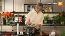 """""""Ewa gotuje"""": Zupa pieprzowa z soczewicą, jesienne warzywa w kaszy bulgur i tarta migdałowa z morelami"""