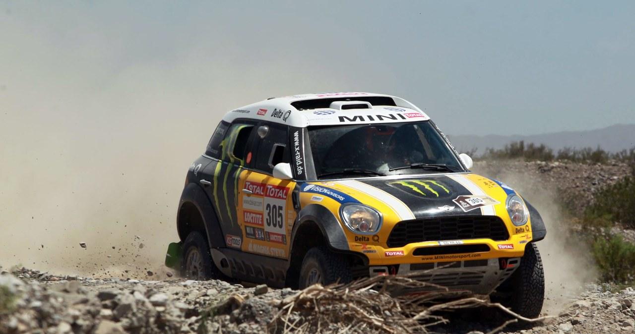 """""""Hołek"""" na prowadzeniu po 3. etapie Rajdu Dakar"""