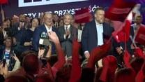 """""""J. Kaczyński ma problem, bo będzie w sejmie opozycja, której będzie się chciało walczyć"""". Liderzy Lewicy świętują powrót do parlamentu"""