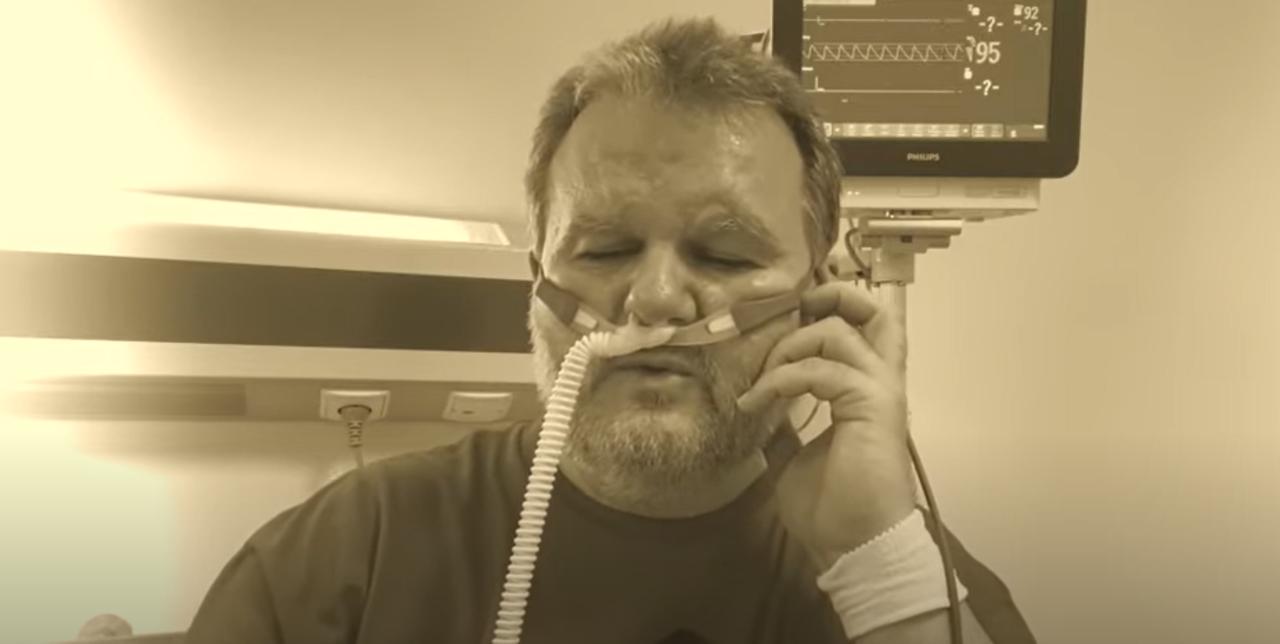 """""""Ja nie jestem statystą"""". Don Gisu nagrał w szpitalu cover piosenki Edyty Górniak"""