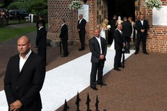 """""""Lewy"""" stanął na ślubnym kobiercu"""