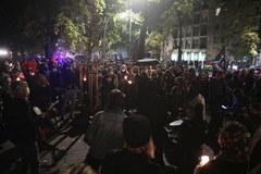 """""""Macie krew na togach"""". Protest przed Trybunałem Konstytucyjnym"""