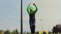 """""""Mario"""" w realu, czyli co potrafią mistrzowie parkuru"""