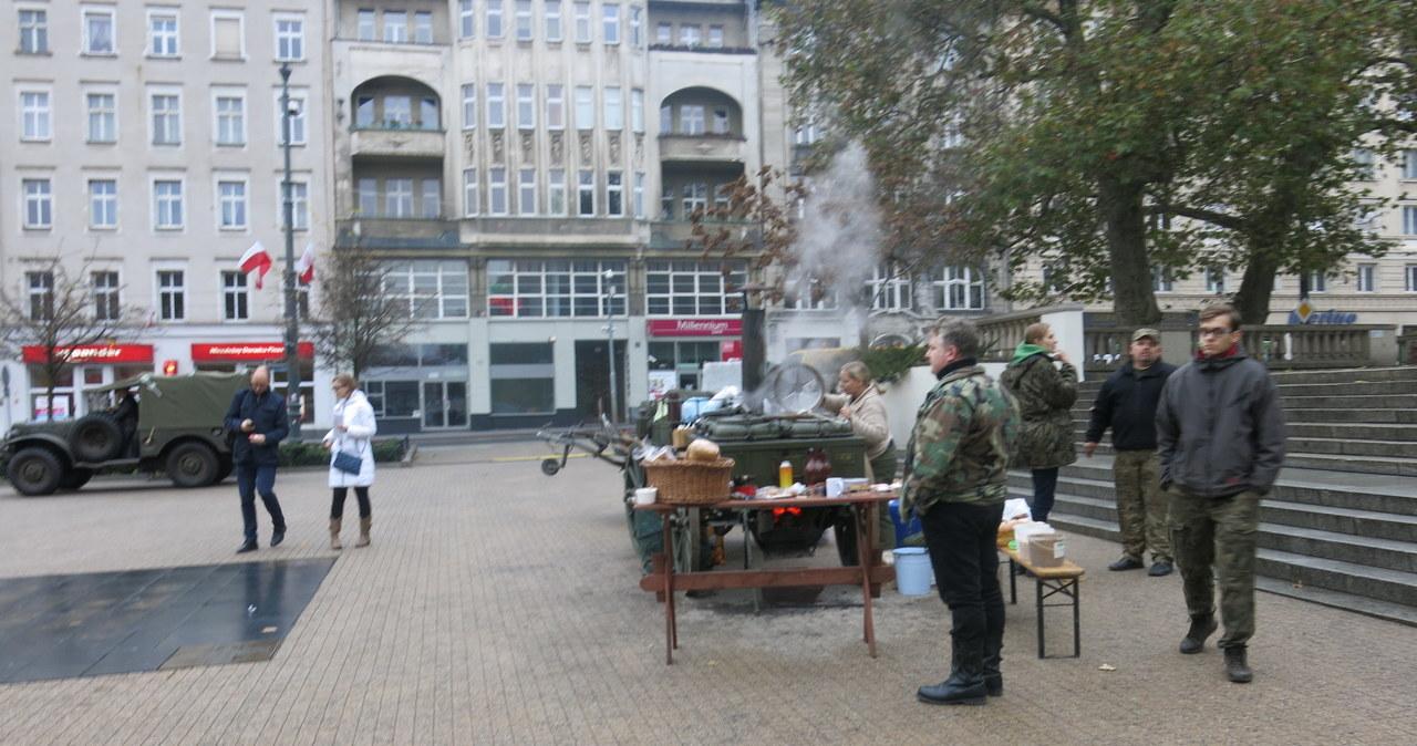 """""""Niepodległościówki"""" na Placu Wolności w Poznaniu"""