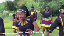 """""""Pokonamy koronawirusa! Nie panikuj, damy radę!"""" Radosna piosenka z RPA zachęca do dbania o higienę"""