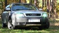 """""""Samochodowy zwiad"""" Audi"""