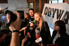 """""""Stop Chazanowi"""". Protest w Kielcach"""