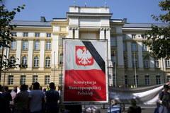"""""""Walczymy o przetrwanie"""". Protest sadowników w Warszawie"""
