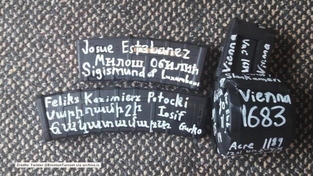 """""""Wiedeń 1683"""" i """"Feliks Potocki"""". Napisy na karabinie napastnika z Nowej Zelandii"""