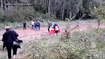 """""""Wydarzenia"""": Aktywiści niszczyli drut kolczasty na granicy z Białorusią"""