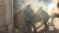 """""""Wydarzenia"""": Blokada Ministerstwa Rolnictwa. Akcja AGROunii"""