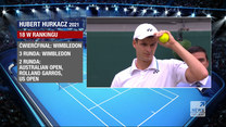"""""""Wydarzenia"""": Pokonał Rogera Federera podczas Wimbledonu. Hubert Hurkacz w półfinale"""