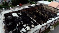 """""""Wydarzenia"""": Pożar hali w Chorzowie. Znaleziono ciało z raną postrzałową"""