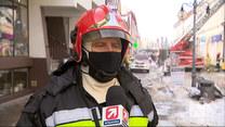 """""""Wydarzenia"""": Pożar w Nowym Tomyślu. Mieszkańcy ratowali się, skacząc z okien"""