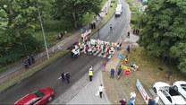 """""""Wydarzenia"""": Protest rybaków rekreacyjnych i Agrounii we Władysławowie. Zablokowali drogę na Hel"""